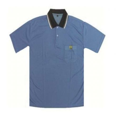 Antistatik Polyester Polo T-Shirt